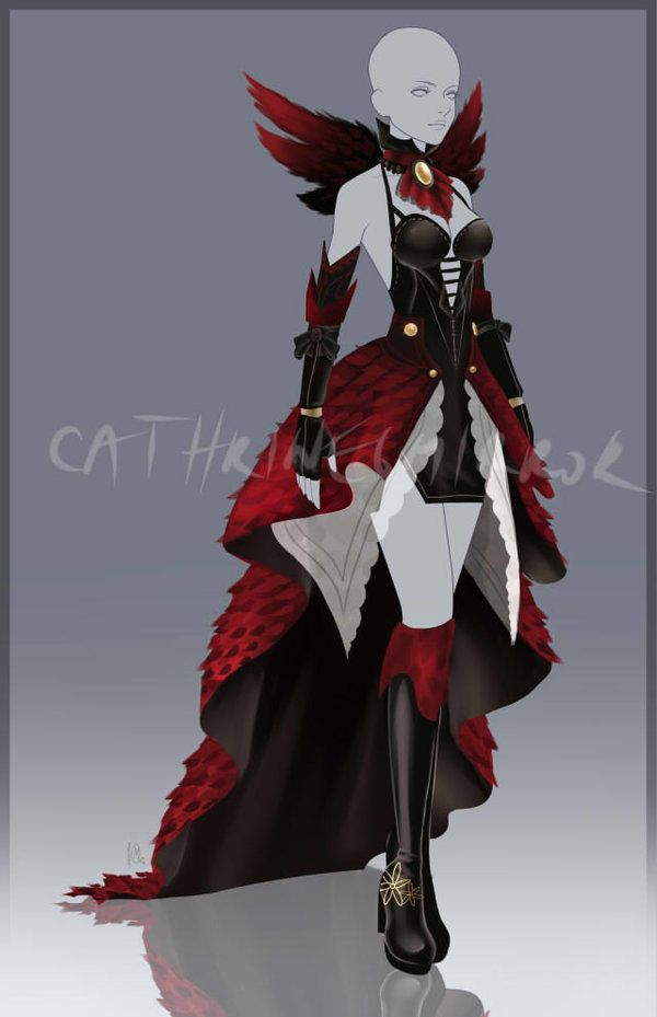 (CLOSED) Adopt Auction - Outfit 29 by cathrine6mirror.deviantart.com on @DeviantArt