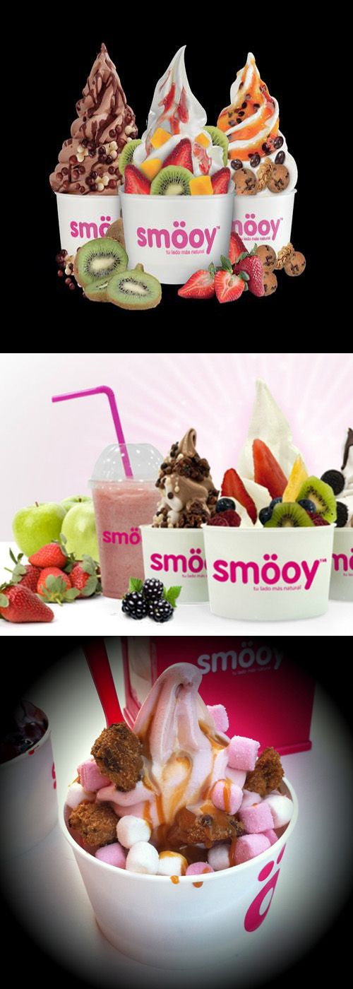 With over 120 franchises SMOOY has risen to be the Frozen Yogurt brand leader in Spain.