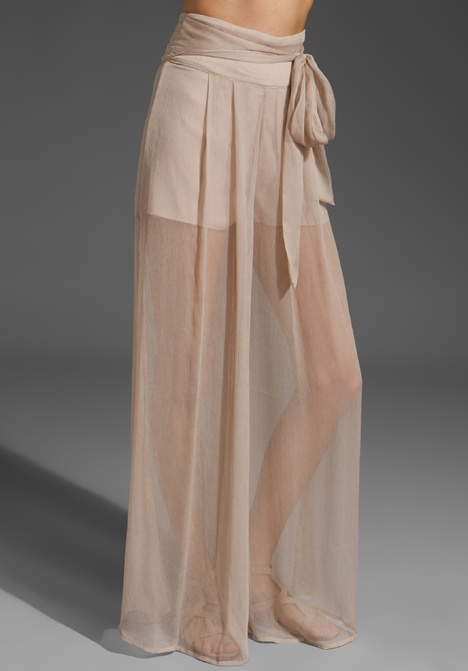 sheer wide leg pants with shorts | Gommap Blog
