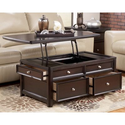coffee table with lift top with storage - Coffee Table With Storage