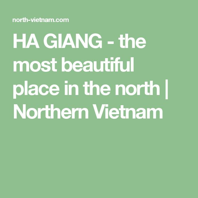 HA GIANG - the most beautiful place in the north | Northern Vietnam