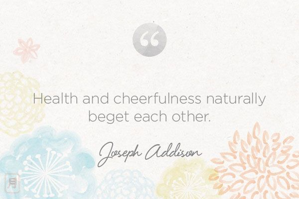 Monday Meditation: Addison on Health & Happiness | via The Honest Company blog