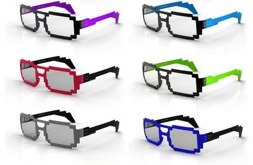 8ビット眼鏡がイカス! 女の子に大人気でモテモテ | ガジェット通信