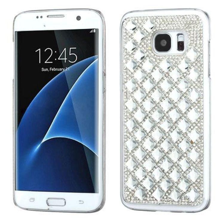 MyBat Cell Phone Case for Samsung G935 (Galaxy S7 Edge) - Retail Packaging - Sil #MyBat