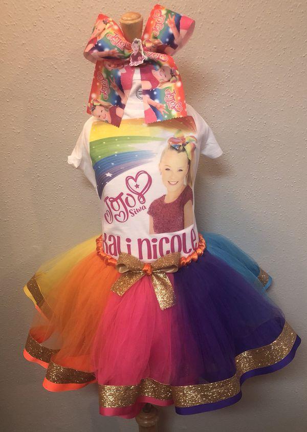 Jojo Siwa Birthday Tutu Set For Sale In San Antonio Tx In