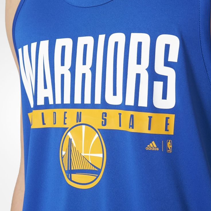 adidas - Regata Winter NBA - Golden State Warriors