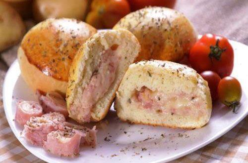 Pão de batata recheado, uma receita simples que leva poucos ingredientes e fica um lanche delicioso, http://cakepot.com.br/pao-de-batata-recheado/