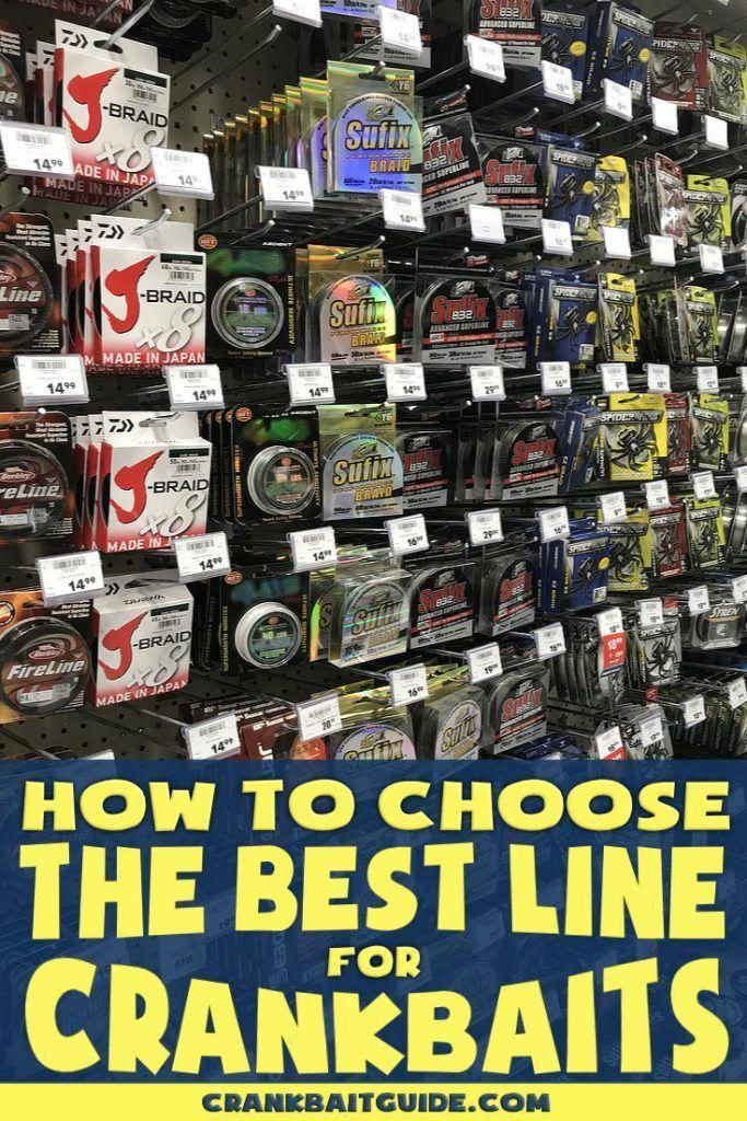 How to choose the best line for crankbaits, whether in the
