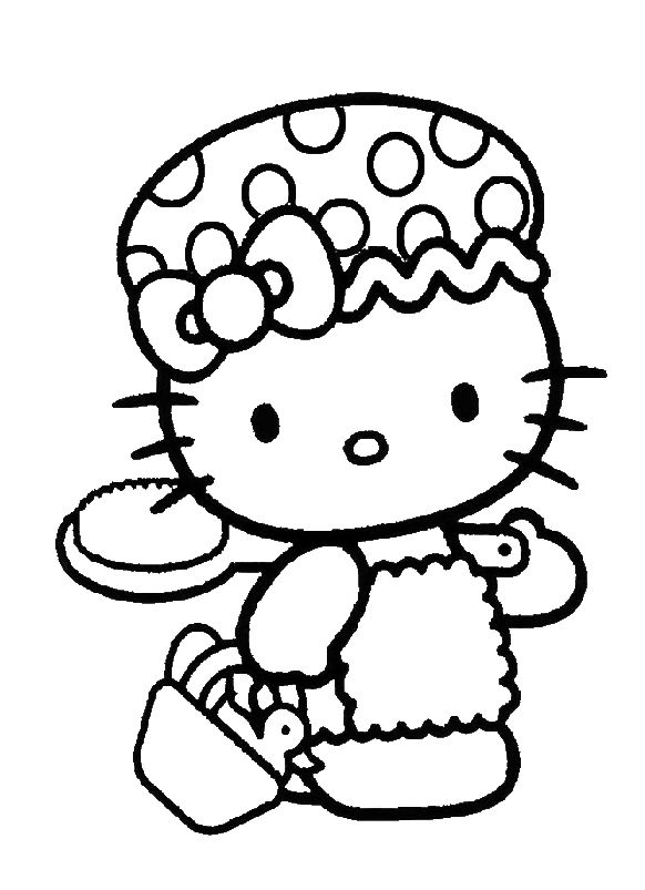 620 best A CRAFTS HELLO KITTY COLOR images on Pinterest Coloring