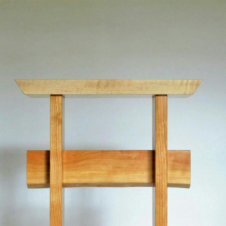 Maple And Cherry Statement Entryway Table: For The Front Door, Tall Narrow  Hall Table, Wood Entry Table, Custom Table  Custom Wood Furniture