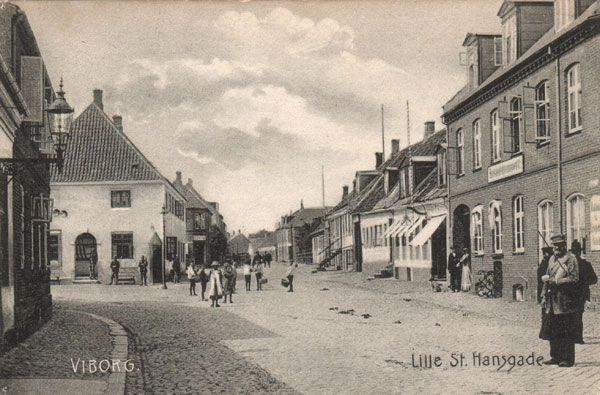 Lille Sct. Hansgade omkring 1900-tallet
