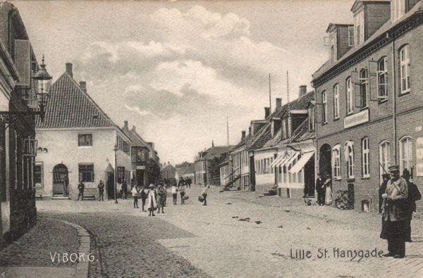 Lille Sct. Hansgade omkring 1900-tallet