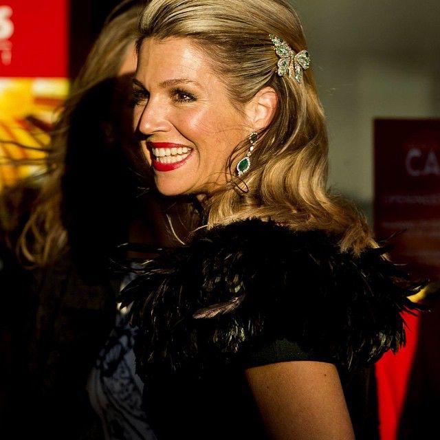 05-05-2015 Koningin Maxima bij het Bevrijdingsconcert in Amsterdam.
