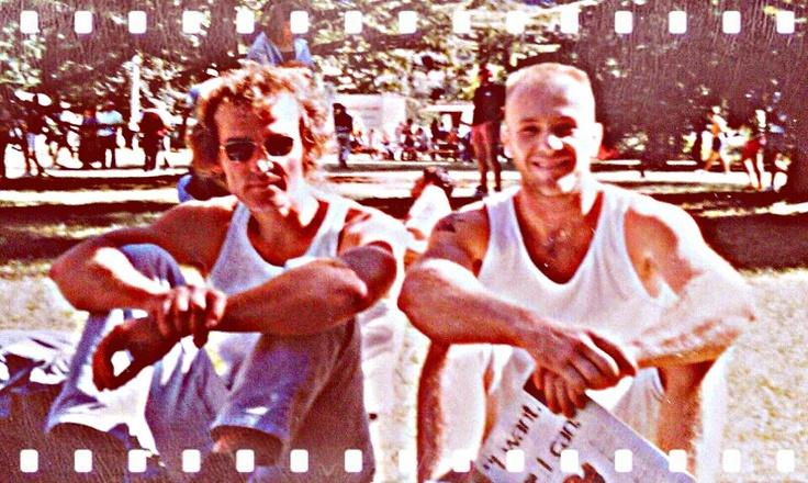 Edlinger with Vitali Simone