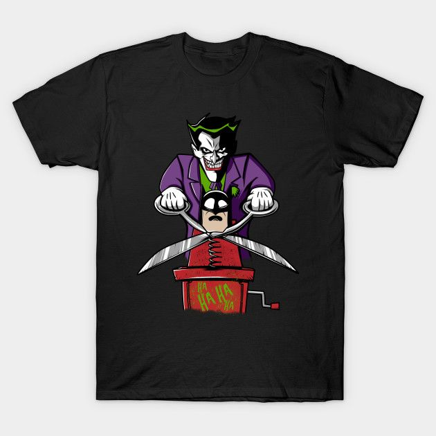 Joke's Play T-Shirt - Joker T-Shirt is $14 today at TeePublic!