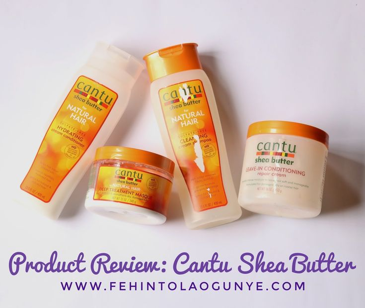 I review the Cantu Shea Butter sulfate free shampoo and conditioner, leave-in conditioning repair cream and deep treatment mask.
