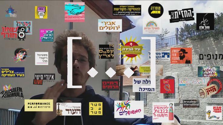 [...] 009 - גם לכם נמאס מהפסטיבלים בירושלים?   https://www.youtube.com/watch?v=yGCnT6kzpdk