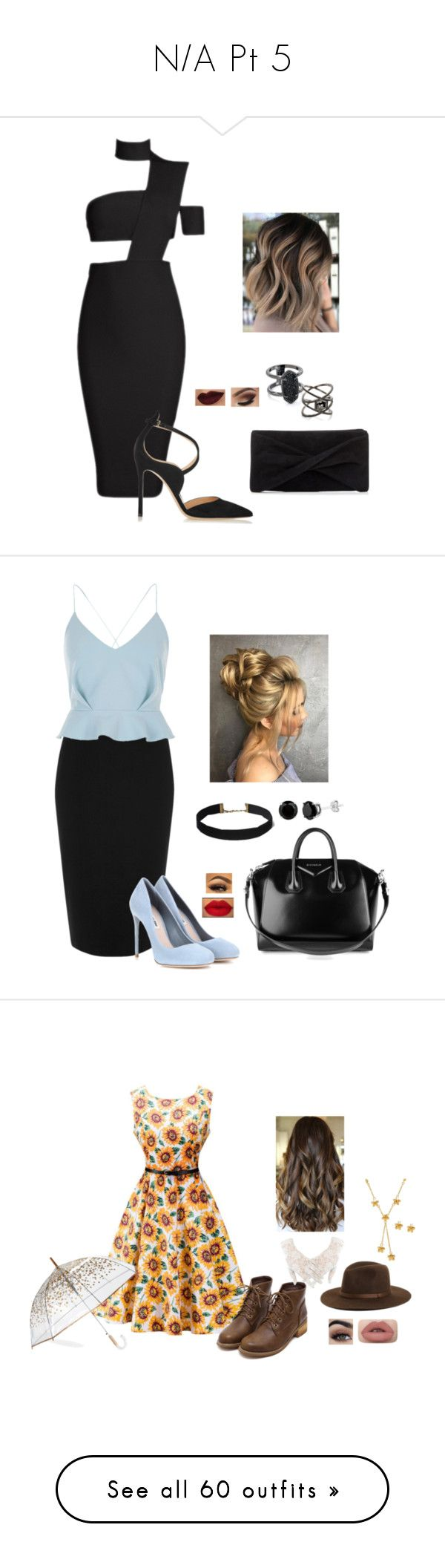 """""""N/A Pt 5"""" by terra-wendy on Polyvore featuring Gianvito Rossi, Reiss, Kendra Scott, Eva Fehren, River Island, Miu Miu, Givenchy, Lord & Taylor, Brixton and ShedRain"""