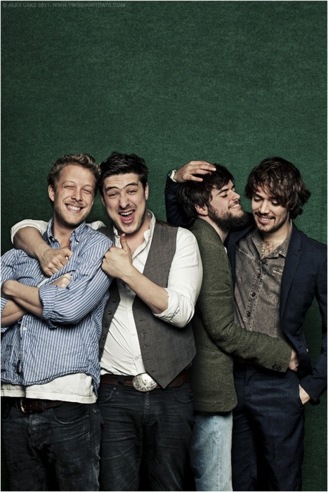 Mumford and Sons  -Before One Direction there was this musically ingenious band. So much respect.