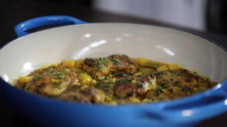 One Pot Chicken with Olives and Potatoes   Asian Food Channel