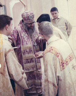 St. John with his altar boys in San Francisco. + + + Κύριε Ἰησοῦ Χριστέ, Υἱὲ τοῦ Θεοῦ, ἐλέησόν με + + + The Eastern Orthodox Facebook: https://www.facebook.com/TheEasternOrthodox Pinterest The Eastern Orthodox: http://www.pinterest.com/easternorthodox/ Pinterest The Eastern Orthodox Saints: http://www.pinterest.com/easternorthodo2/