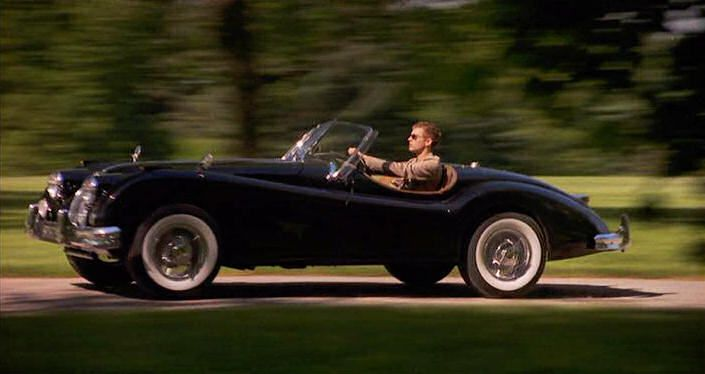 1956 Jaguar xk140. In love with the car after watching Cruel Intentions.