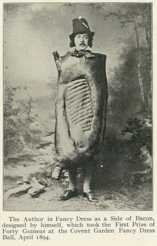 Bacon and Hams (Domuz Pastırması ve Jambon) adlı kitabın yazarı olan George J. Nicholls 1917