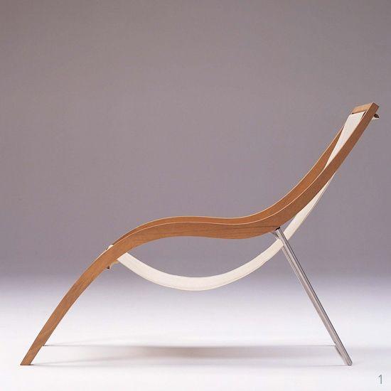 Lido - Ligstoel. Dit product is door designer Jacob Berg voor fabricant Skagerak ontworpen.