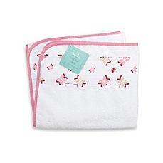 image of aden + anais® Toddler Towel in Princess Posie