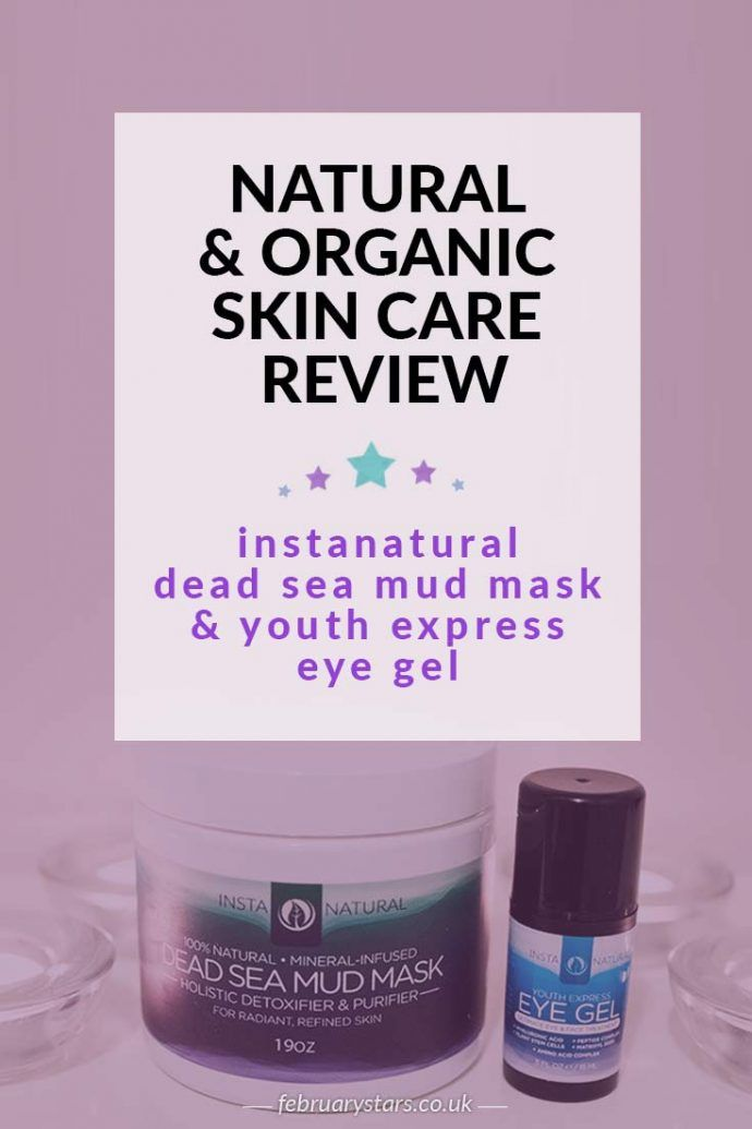 A review of natural & organic skin care by InstaNatural. Click to read or pin to save for later.