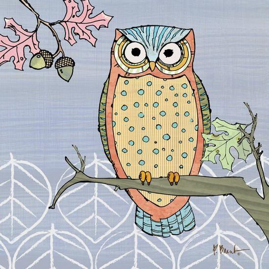 Pastel Owls II Art Print by Paul Brent at eu.art.com