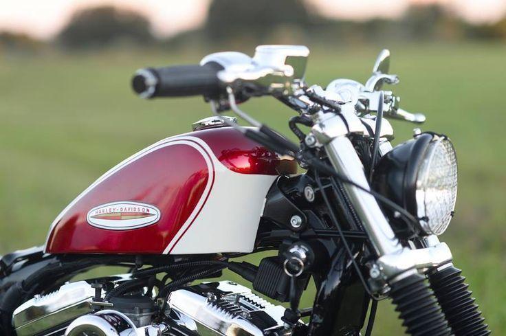 Racing Cafè: Harley XL 1200 2004 by Hageman Motorcycles