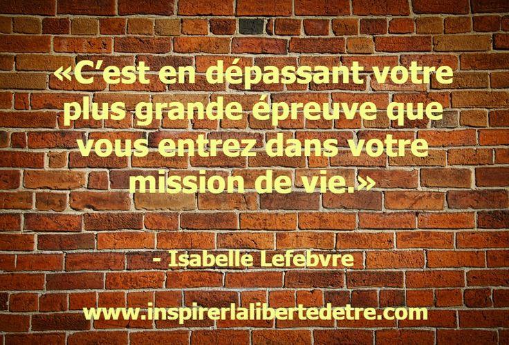 Quelle est la plus grande épreuve de votre vie? #epreuve  #missiondevie