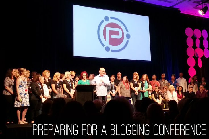 Bloggie Wednesday: Preparing for a Blogging Conference