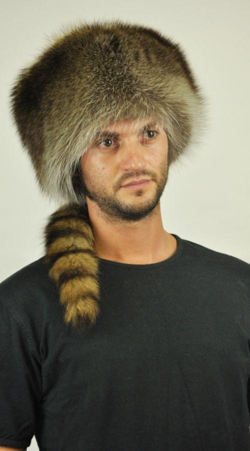 Cappello in castoro con coda. http://www.amifur.com