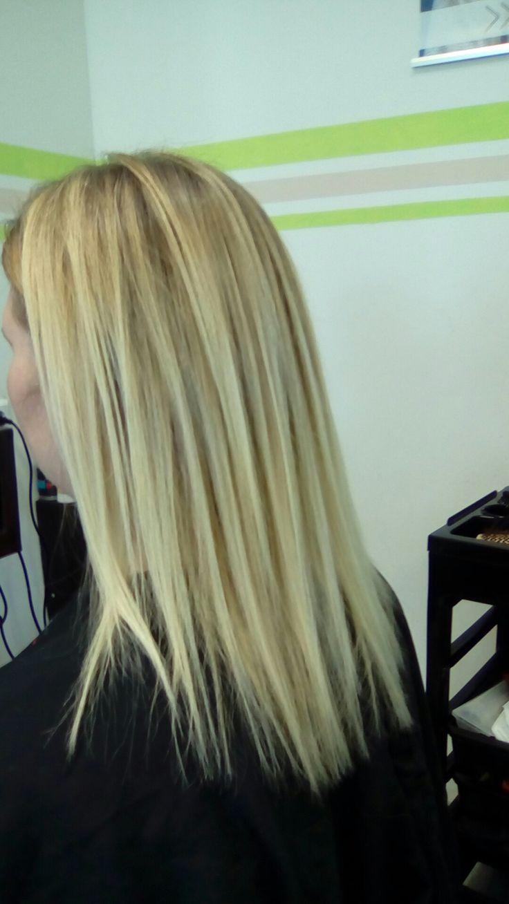 Supermooie keratine behandeling voor zacht glanzend haar. 😁