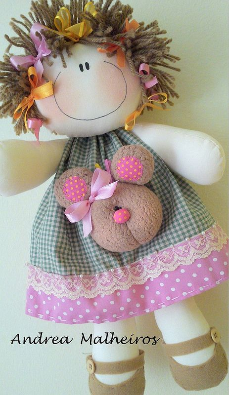 PROJETO PASCOA ENCANTADA MENINA CORALINA: Clothing Dolls, Hair Colors, Muñeca, Photo Shared, Dolly Dolls, Muñeco En, Boneca De Pano, Dolls Ideas, Boneco