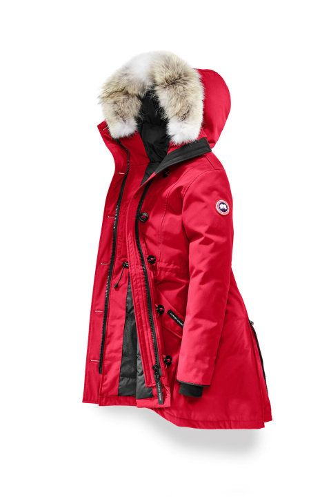 Rossclair Parka Fusion Fit Canada Goose Women Canada Goose Parka Canada Goose Red Jacket