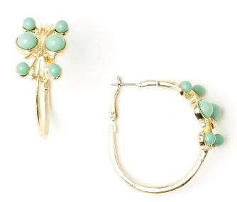 The Eva Mendes Allegra Hoop Earrings