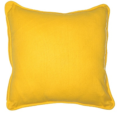 My outdoor space would not be complete without some brightly colored pillows!
