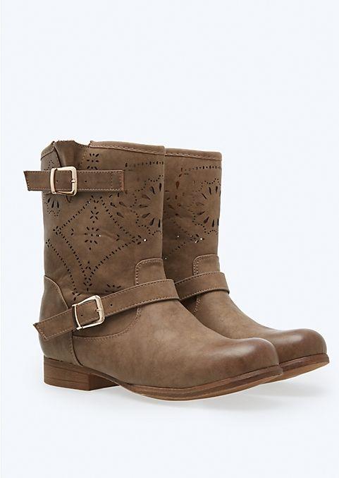 Cutout Moto Boot | Boots | rue21