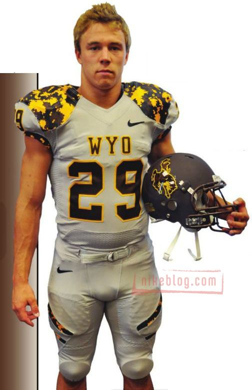 Camo Wyoming Football Uniform - Nike did this?  I refuse to believe it.