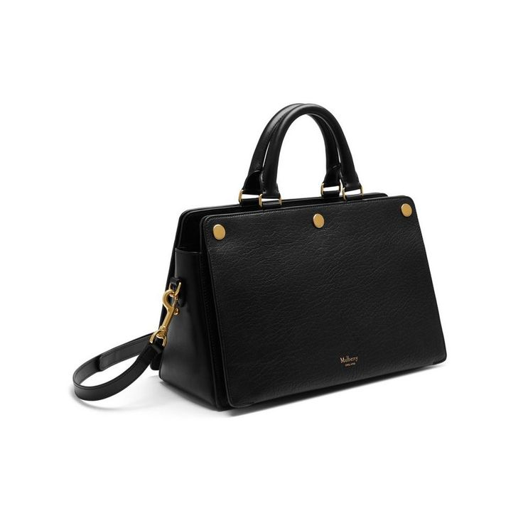 Mulberry - Chester in Black Textured Goat
