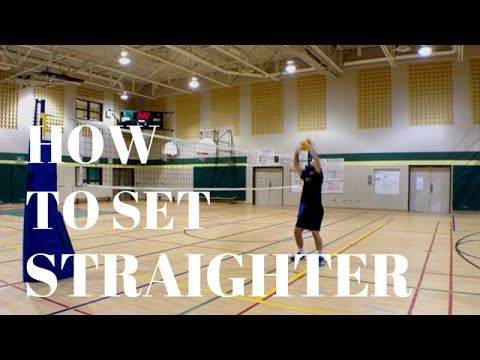 Jump volleyball tip #13 how to set straight