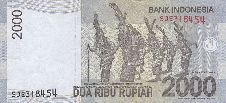 Indonesian Rupiah Security Features For The 10K No…
