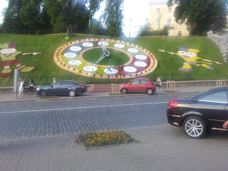 Clock in Kiev