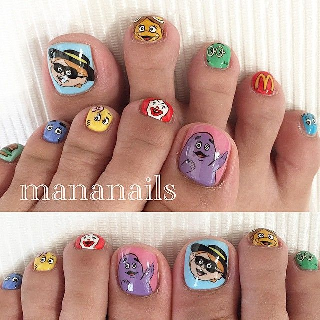 "Beauty Blog — Mananails on Instagram: ""McDonald's  #mcdonalds..."