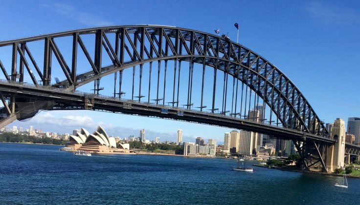 Harbour bridge, the link between south and north Sydney