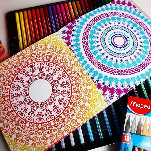 Double page issue de #inspirationbollywood / ⛄ #biichette_coloriages #stabilo #dessainettolra #stabilopoint88 #stabilopen68 #point88 #pen68 #stabilo88 #stabilo68 #coloriagepouradultes #coloriagesantistress #coloring #aixenprovence #accroaucoloriage #coloriage #arttherapy