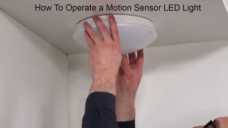 How To Install Indoor Motion Sensor Light From Steinel Germany